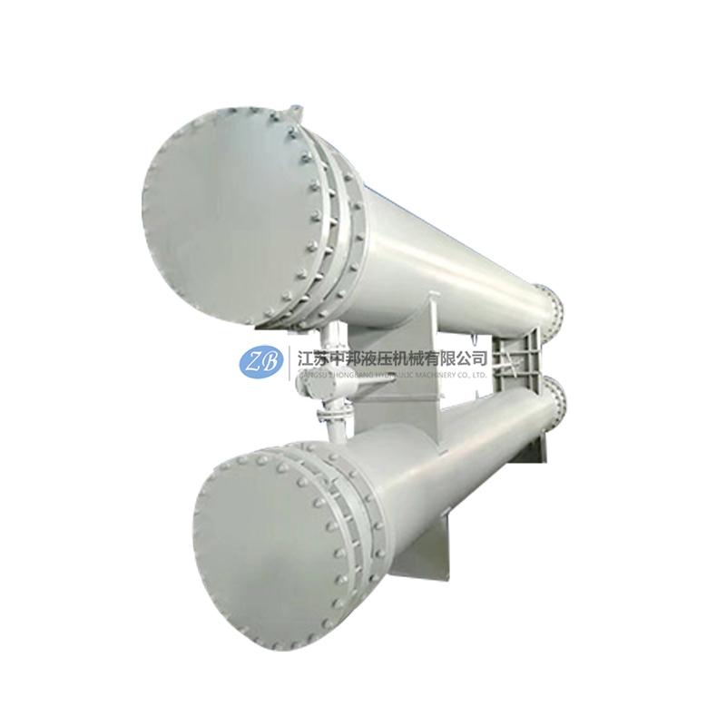 江苏SGLL型双联卧式油冷却器