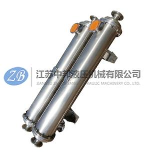 不锈钢双联冷却器