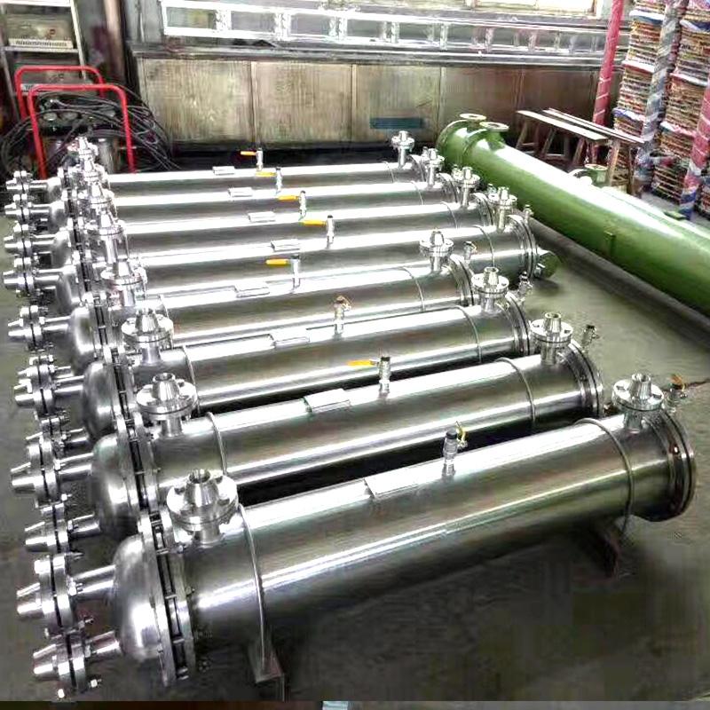 列管式冷却器发货现场